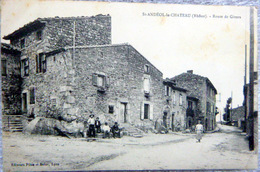 69 SAINT ANDEOL LE CHATEAU ROUTE DE GIVORS - France