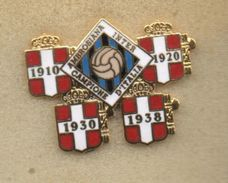 Pqm1 Ambrosiana Inter Calcio Distintivi Neroazzurro FootBall Soccer Pins Spilla Milano Lombardia Rivaival - Calcio