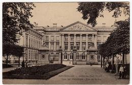 BRUXELLES - SORTIE DU PARC ROYAL - VERS LES MINISTERES - RUE DE LA LOI - Primi '900 - Vedi Retro - Formato Piccolo - Foreste, Parchi, Giardini