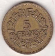 5 FRANCS 1946. Bronze Aluminium - France