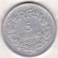 5 FRANCS LAVRILLIER 1945 ALUMINIUM , , 9 Ouvert - France