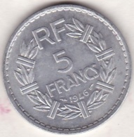 5 FRANCS LAVRILLIER 1946 ALUMINIUM , , 9 Ouvert - France