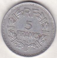 5 FRANCS 1947  (9 Ouvert ) Aluminium - France