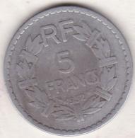 5 FRANCS  Lavrillier 1952 . Aluminium - J. 5 Francs