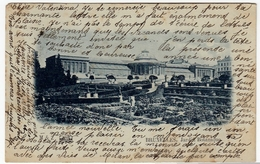 BRUXELLES - JARDIN BOTANIQUE - 1898 - Vedi Retro - Formato Piccolo - Foreste, Parchi, Giardini