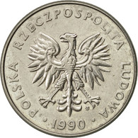 Pologne, 20 Zlotych, 1990, Warsaw, SUP, Copper-nickel, KM:153.2 - Pologne