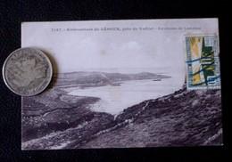 REGION BRETAGNE - EMBOUCHURE DU LEGUER PRES DU YAUDET - ENVIRONS DE LANNION - DOS VERT - 1925 - - Bretagne