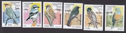 Cambodia, Scott #1598-1603, Mint Hinged, Birds, Issued 1997 - Cambodia