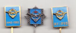 YUGOSLAVIA-AIRFORCE ,ENAMEL - Airforce