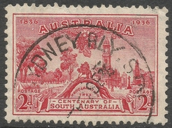 Australia. 1936 Centenary Of South Australia. 2d Used. SG 161 - 1913-36 George V : Other Issues