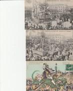 3 CPA 06 NICE CARNAVAL 1913   SABOTEURS N° GAGNANT  SM - Carnaval