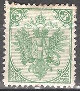 1879 -1894 - BiH 3  Krajcara MH  Z.12 - Bosnia And Herzegovina