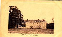 GUERARD Le Château Cpa Circulée Bon état Voir Scans - Other Municipalities