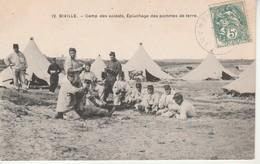 Biville-Camp Des Soldats-Epluchage Des Pommes De Terre. - Other Municipalities