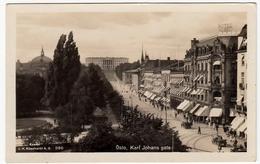 OSLO - KARL JOHANS GATE - 1931 - Vedi Retro - Formato Piccolo - Norvegia