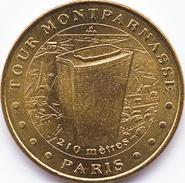75015 PARIS TOUR MONTPARNASSE MÉDAILLE MONNAIE DE PARIS 2007 JETON TOKEN MEDAL COIN - Monnaie De Paris