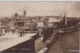 TRIPOLI_Panorama_Vg Il 12.8.1920_Originale D'Epoca100%-2 Scann- - Libyen