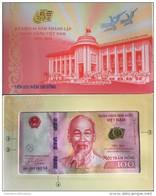 Vietnam Viet Nam 100 Dong UNC Banknote 2016 With Folder / New Commemorative - Vietnam