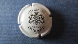 CAPSULE CHAMPAGNE VEUVE DURAND Blanc Et Noir, Ecriture Fine - Durand (Veuve)