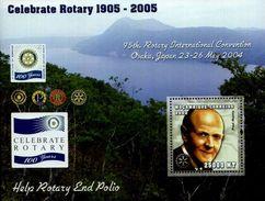 Polio, Disease, Medicine, Rotary Int. Paul Harris, Mozambique 2002 MNH SS - Disease