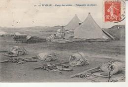 Biville-Camp Des Soldats.Préparatifs De Départ. - Other Municipalities