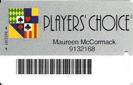 Charles Town Races - Slot Card With Innovative Over Mag Stripe - Casino Cards