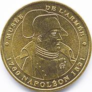 75007 PARIS MUSÉE DE L'ARMÉE BUSTE DE NAPOLÉON MÉDAILLE MONNAIE DE PARIS 2009 JETON TOKEN MEDAL COIN - Monnaie De Paris
