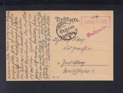Dt. Reich PK 1923 Gebühr Bezahlt Magdeburg - Germania