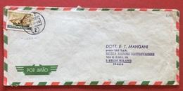 AEROGRAMMA ESTERO-ITALIA DA C.T.T. LOURENÇO MARQUES 2  MILANO IN DATA  17/5/71 - Mozambico