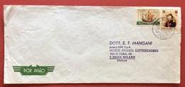 AEROGRAMMA ESTERO-ITALIA DA C.T.T. LOURENÇO MARQUES 2   A  MILANO IN DATA  26/8/71 - Mozambico