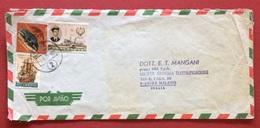 AEROGRAMMA ESTERO-ITALIA DA C.T.T. LOURENÇO MARQUES 2   A  MILANO IN DATA  5/5/71  TEMATICA NAVI VELIERI - Mozambico