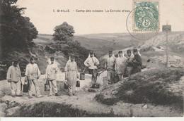 Biville-Camp Des Soldats.La Corvée D'Eau. - Other Municipalities