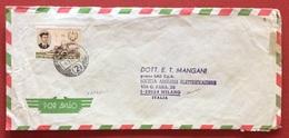 AEROGRAMMA ESTERO-ITALIA DA C.T.T. LOURENÇO MARQUES 2   A  MILANO IN DATA  9/3/72   TEMATICA NAVI VELIERI - Mozambico