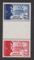 N° 565 à 566 A  ** Légion étrangère  (paire Avec Intervalle) YT 27,50 € - Nuevos