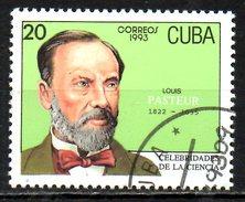 CUBA. N°3290 Oblitéré De 1993. Louis Pasteur. - Louis Pasteur