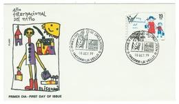 Andorra // FDC // 1979 //  Année Internationale De L'enfance - Lettres & Documents