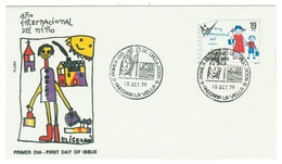 Andorra // FDC // 1979 //  Année Internationale De L'enfance - Andorre Espagnol