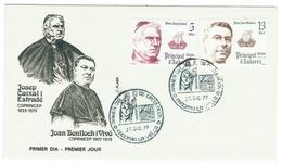 Andorra // FDC // 1979 // Co-princes Episcopaux De La Principauté D'Andorre (2 Lettres) - Lettres & Documents