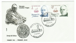 Andorra // FDC // 1981 // Co-prince Episcopaux De La Principauté D'Andorre - Lettres & Documents