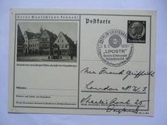 GERMANY 1938 POSTKARTE P236 37-99-1-B9 MIT SONDERSTEMPEL LIPOSTA BERLIN LICHTENRADE - Allemagne
