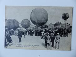 CPA Publicitaire ANGERS Le GRAND Prix Des Sphériques De L'Aéro-Club De L'Ouest Ballon Dirigeables Montgolfière 49 - Angers