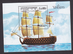 Cambodia, Scott #1654, Mint Hinged, Ships, Issued 1997 - Cambodge