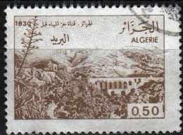 ALGERIA 1984 Views Of Algeria Before 1830 - Algiers From Aqueduct - 50c. - Brown  FU - Algérie (1962-...)