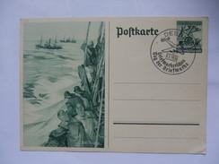 GERMANY GANZSACHE P 266 MIT DESSAU SONDERSTEMPEL - Deutschland