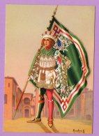 Cartolina Illustrata Anichini G. - Paggi Delle Contrade Storiche Di Siena - OCA - Illustratori & Fotografie