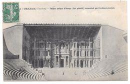 84 - ORANGE - Théâtre Antique D'Orange (état Primitif) Reconstitué Par L'architecte Caristie - N° 50 - Orange