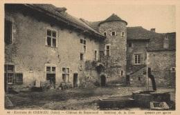 CPA 38 - Crémieu - Château De Beptenoud - Intérieur De La Cour - Crémieu