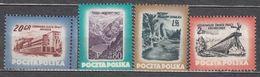Poland 1953 Mi# 827-830 Resorts MNH * * - 1944-.... Republic