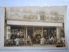 """Carte Photo De Beauvais  """" Café Potard """" - Beauvais"""