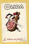 BUVARD : Le Virtuose Du Jambon OLIDA - Alimentaire